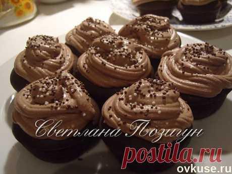Шоколадные капкейки - Простые рецепты Овкусе.ру