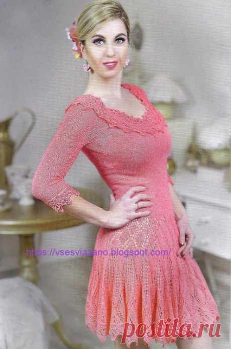 ВСЕ СВЯЗАНО. ROSOMAHA.: Красивое платье из хлопка: невесте, к выпускному и просто к весне и лету!