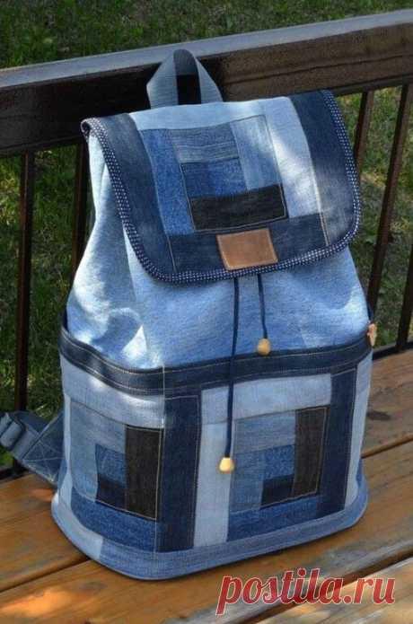 Варианты рюкзаков из джинсовой ткани Варианты рюкзаков из джинсовой тканиКаждый из вариантов рюкзаков из джинсовой ткани хорош своей долговечностью.