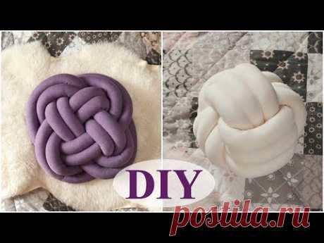 PILLOW KNOT the hands, detailed master class. 2 ways to stick nodal pillows.