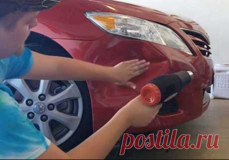5 простых, но действенных способов исправить вмятины на кузове автомобиля