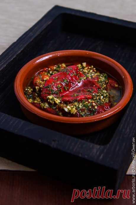 Запечённые болгарские перцы - Кулинарные заметки Алексея Онегина