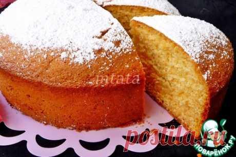 Быстрый сливочный пирог – кулинарный рецепт