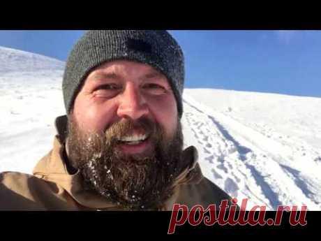 Пушкин, ветер, снег и детвора - колдуем вместе - YouTube