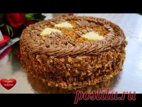 Все НЮАНСЫ|Киевский торт по госту |ВКУСНЫЙ ,СЛАДКИЙ ,КАЛОРИЙНЫЙ |любимый торт моего папы|cake recipe