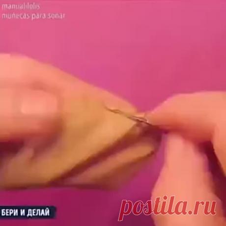 Капроновая куколка своими руками