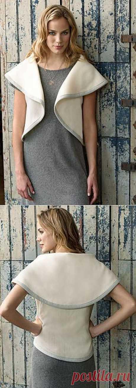 Жилет из круга / Простые выкройки / Модный сайт о стильной переделке одежды и интерьера