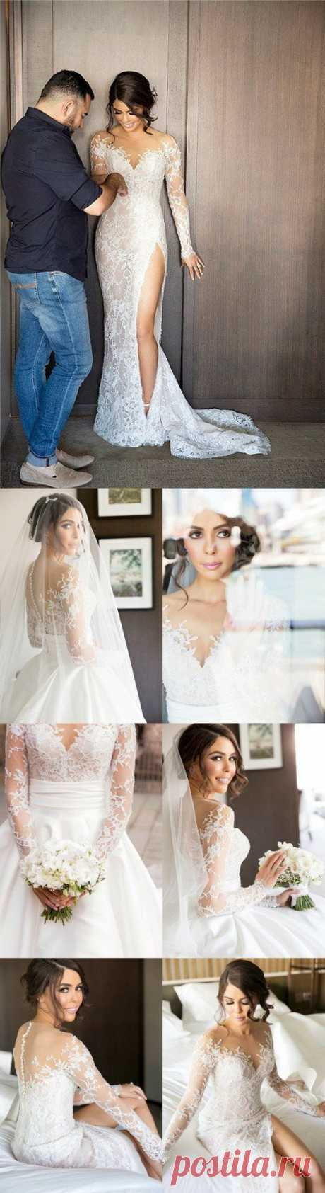 Prom Dresses Beautiful, 2019 New Full Lace Split Wedding Dresses with Detachable Satin Skirt Prom Formal EFuXuan Prom Dresses Beautiful, 2019 New Full Lace Split Wedding Dresses with Detachable Satin Skirt, Looking for the perfect prom dress to shine on your big night? Prom Dresses 2020 collection offers a variety of stunning, stylish ball.
