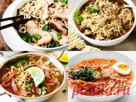 Как приготовить рамен: рецепты супа рамэн с лапшой | Чудо-Повар