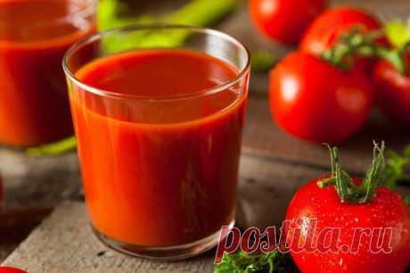 Ученые назвали томатный сок снижающим давление напитком — Ferra.ru