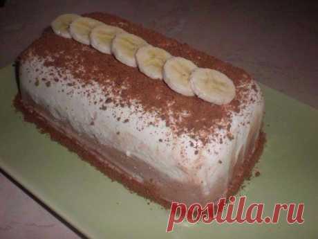 Как приготовить творожный десерт с бананом - рецепт, ингридиенты и фотографии