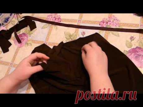 Шьём подклад для вязаной юбки. Продолжение следует!