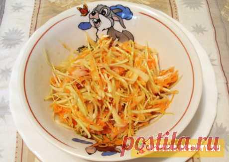 Салат из капусты витаминный, рецепт. | ДЕТСКИЕ РЕЦЕПТЫ, БЛЮДА