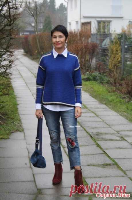 Джемпер в спортивном стиле. Irina Horn