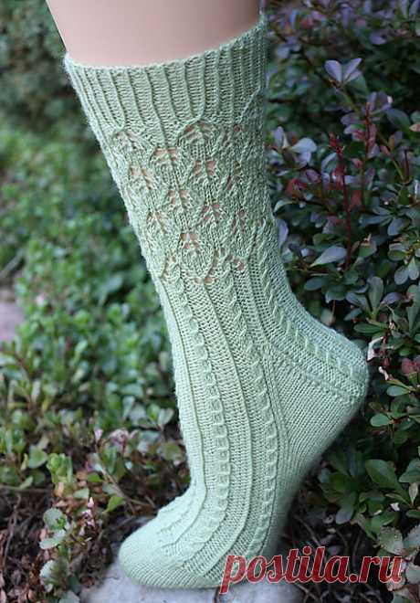 Носочки Banyan Tree Socks by Debbie O'Neill