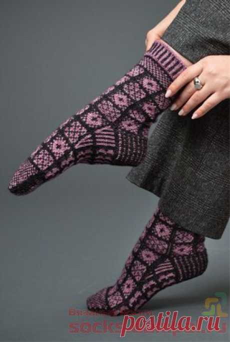Вязаные носки «Санкухар»   ВЯЗАНЫЕ НОСКИ