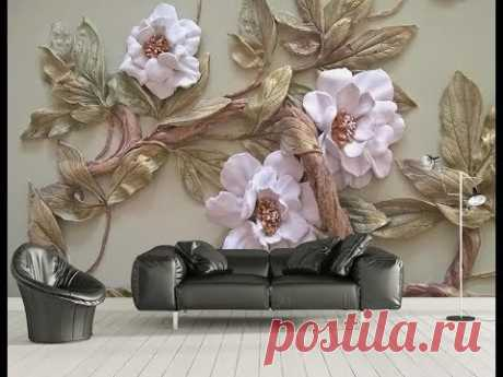 5D Mural Wallpaper for bedroom, living room & TV cabinet