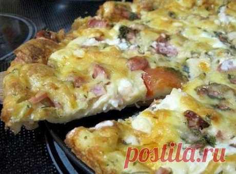 Пицца минутка – отменный вкус без особых хлопот