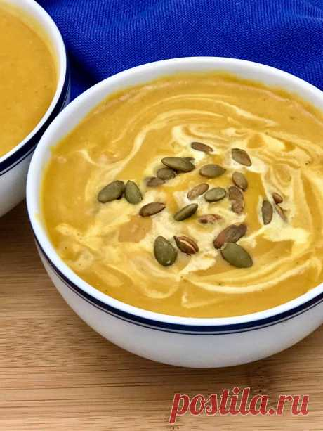 Постный тыквенный суп-пюре рецепт с фото пошагово Постный тыквенный суп-пюре - пошаговый кулинарный рецепт приготовления с фото, шаг за шагом.