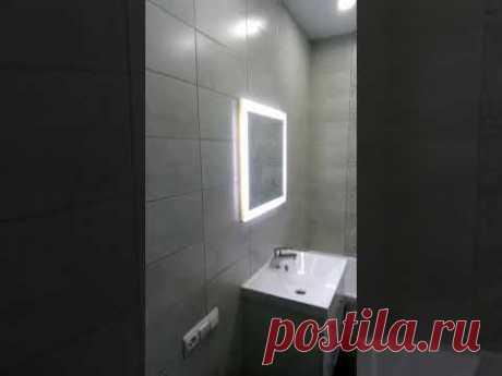 Ванная комната в хрущевке после перепланировки