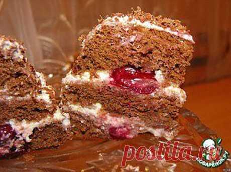 Бисквит за 3 минуты и мини-тортик из него - кулинарный рецепт