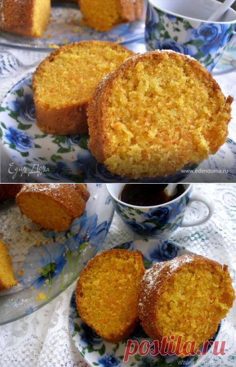 Диетические блюда на Карантине.Бразильский морковный кекс, пошаговый рецепт