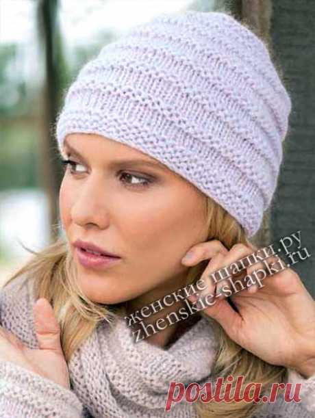 Модные женские шапки зима