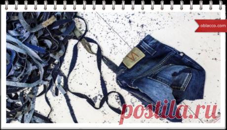 Коврик из старых джинсов, мастер класс | oblacco Старые джинсы, даром что старые - это один из самых благодатных материалов для рукоделия в самых разнообразных стилях и техниках. Замечательный материал для декора, для шитье, оказывается и ткачеством можно заняться, используя ленты, нарезанные из джинсов. Ткачество у меня сразу же ассоциируется с ткацким станком, поэтому даже не задумываешься о том, чтобы изучить вопрос, все равно ведь станка у меня нет, и приобретать я его...