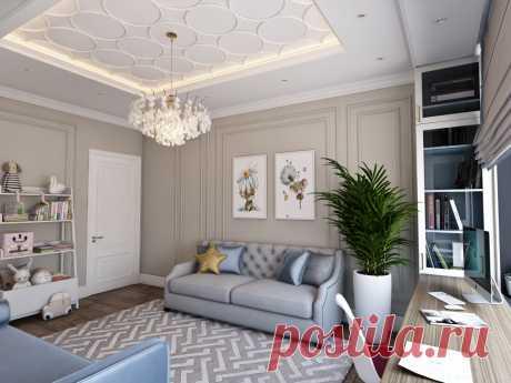 Интерьер: изящная семейная квартира в нежных оттенках | Уютная Квартира | Яндекс Дзен