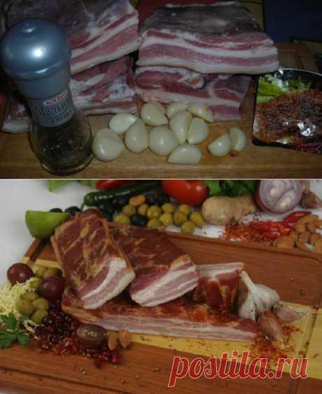 Простой рецепт вкусной свиной грудинки