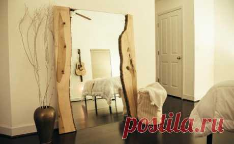 How to Add Live Edge to a Mirror DIY | Hometalk