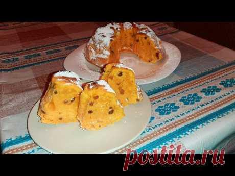 Тыквенный кекс с изюмом (+ВИДЕО) - Затейка.com.ua - рецепты вкусных десертов, уроки вязания схемы, народное прикладное творчество