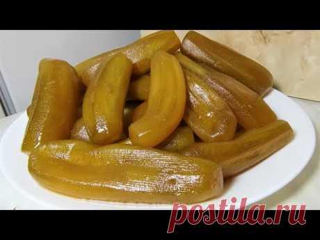 Варенье из Баклажанов на Зиму необычные безумно вкусные Рецепт по Армянски