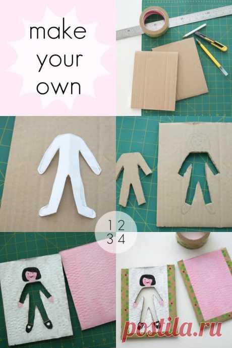 Новый взгляд на кукол из бумаги