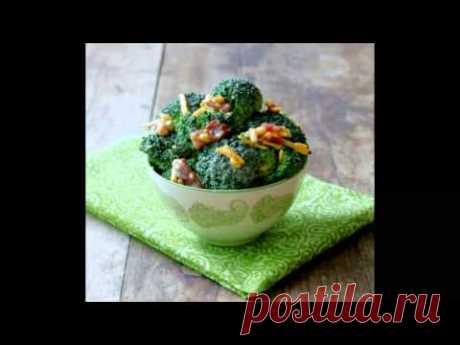 Заготовка на зиму  салаты из брокколи