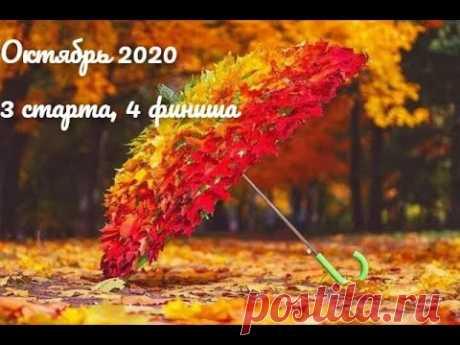 Октябрь 2020 и моя вышивка: 4 финиша, 3 старта и продвижения по другим процессам