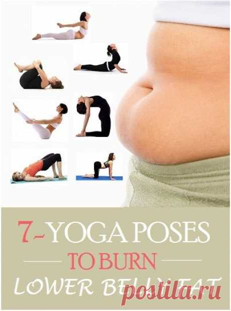 (127) Top 7 Yoga Poses To Burn Lower Belly Fat.. | Yoga & general balance in my body