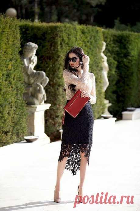Кружевные юбки - стильный акцент (трафик) Модная одежда и дизайн интерьера своими руками