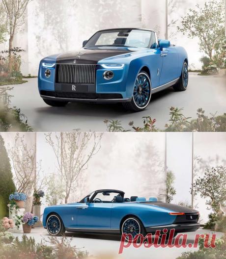 Кабриолет Rolls-Royce Boat Tail: фото, видео, техника