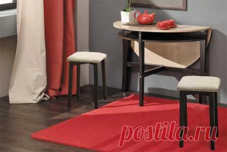 Стол для маленькой кухни: подборка идей — Сделай сам, идеи для творчества - DIY Ideas