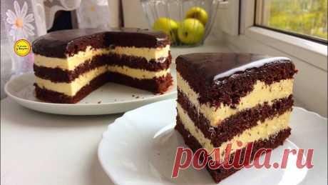 Проще не придумаешь Торт без весов стаканчиковый торт с очень вкусным кремо