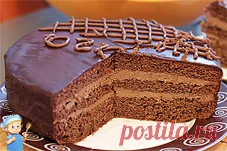 Торт «Прага» классический рецепт