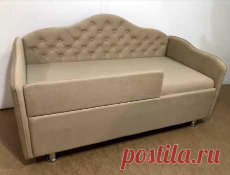 Два друга смастерили шикарный диван из старой советской кровати . | Волшебство ремонта | Яндекс Дзен