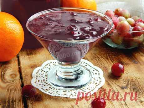 Варенье из крыжовника с апельсином на зиму рецепт с фото пошагово - 1000.menu