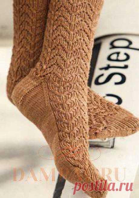 Вязаные носки с узором «Корбюзье» | DAMские PALьчики. ru