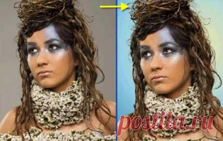 """PhotoshopSunduchok - Видеоурок """"Отделяем сложный объект от фона"""""""