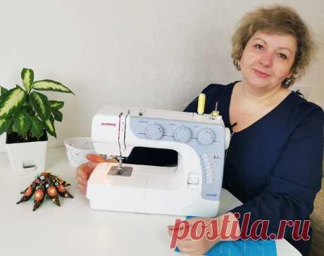Новая швейная машинка- бюджетная и всемогущая! | Время шить | Яндекс Дзен