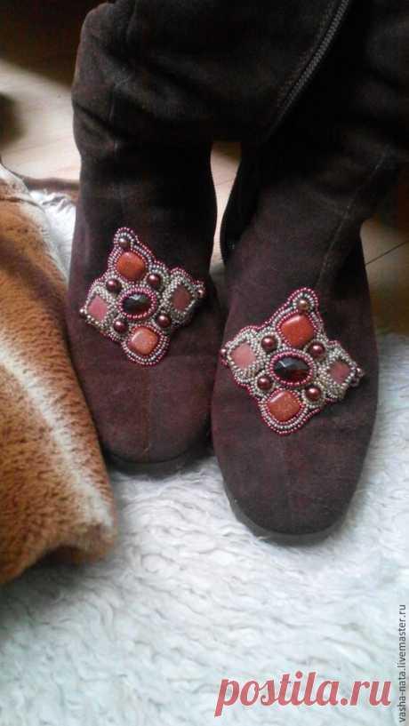 Декорируем и реставрируем зимнюю обувь