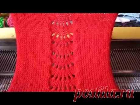स्वेटर डिज़ाइन 0069 मशीन से कैसे बनाए इन हिंदी | Jali Sweater Design