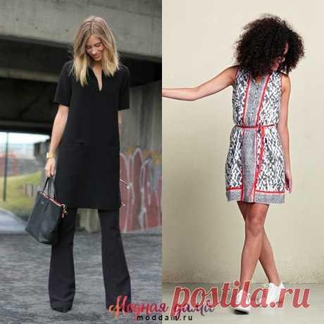 Модные туники для лета 2017 года: на фото новинки моделей женских туник-платьев и туник-блузок